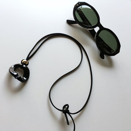 Sunglass/glass folder for unisex (Black)