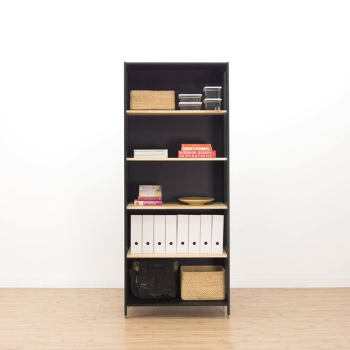 Creesor - Shido 40 industrial wind bookcase display cabinet
