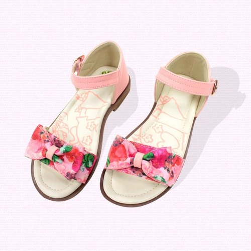 Single bow sandal color pink, the price includes only the shoes