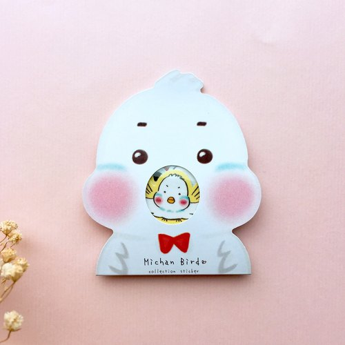 Mi-chan Bird | cute stickers 20 pieces
