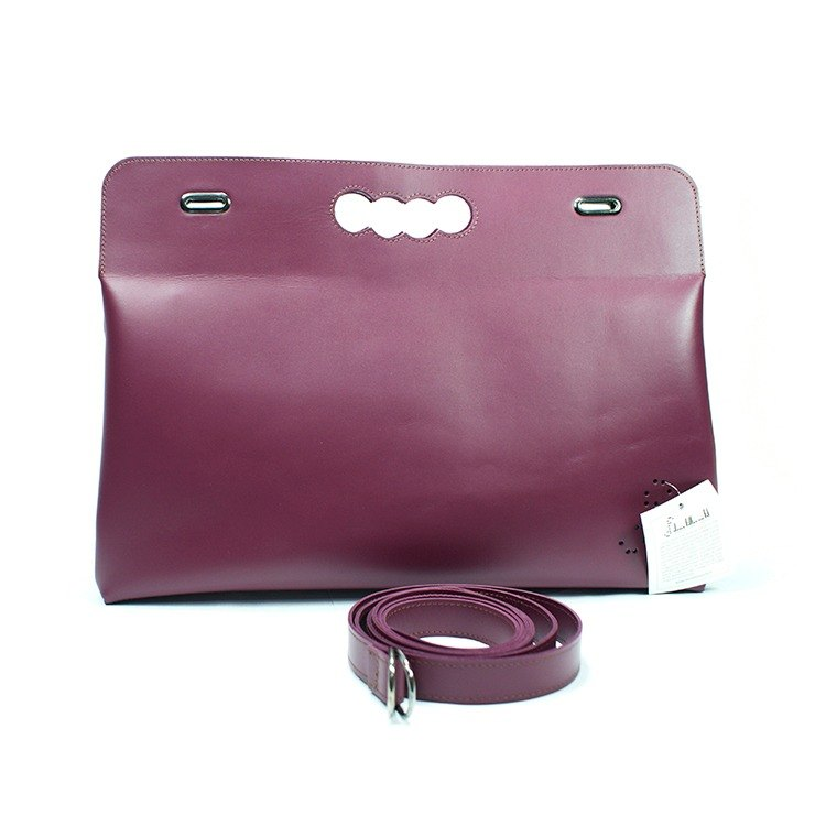 Deux Filles en Fil [France] SAC MARQUISE- folding bag purple