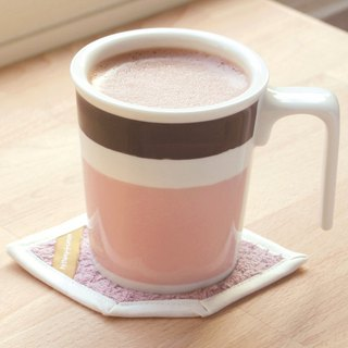[Good color office] cocoa kiss mug cotton coasters ceremony
