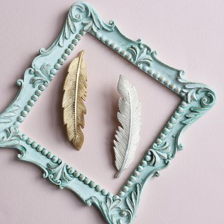 Japanese handmade ornaments - feather hair accessories