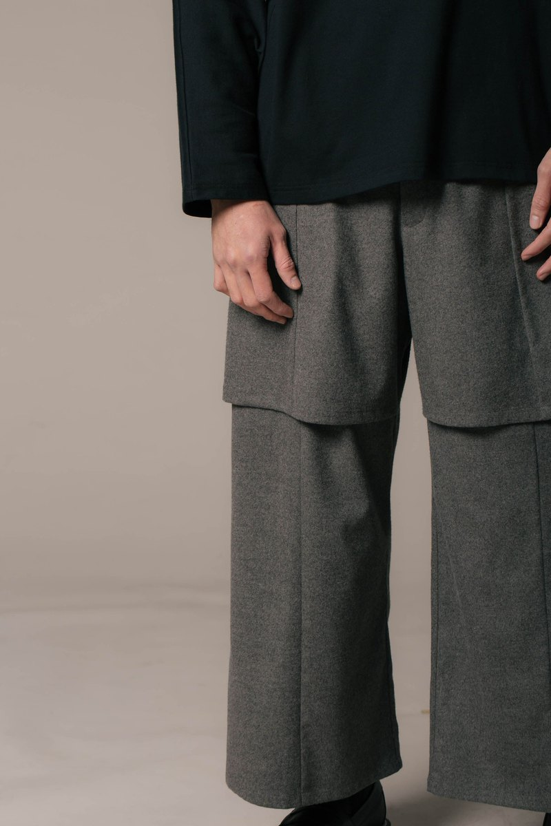 8 lie down_double trousers