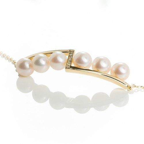 [Code series - Invaluable freshwater pearl bracelet ]