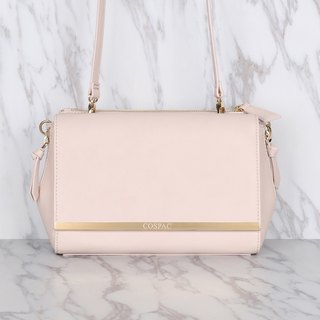 Light Pink Color DAY BAG – Synthetic Leather Shoulder Bag