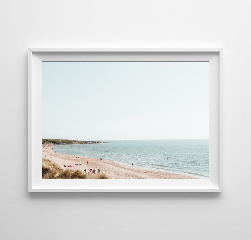 Seashore Print customizable posters