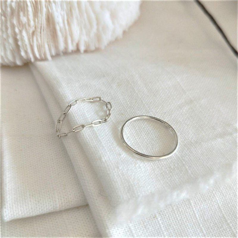│ Set │ Air Chain Ring • Prime Ring • Silver Ring • Set