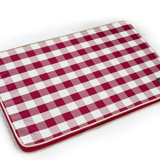 Lifeapp Sleeping Pad Replacement Cloth --- L_W110xD70xH5cm (Red and White) does not contain sleeping mats