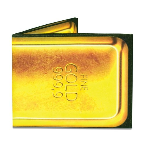 Mighty Wallet® paper wallet _Gold Bar