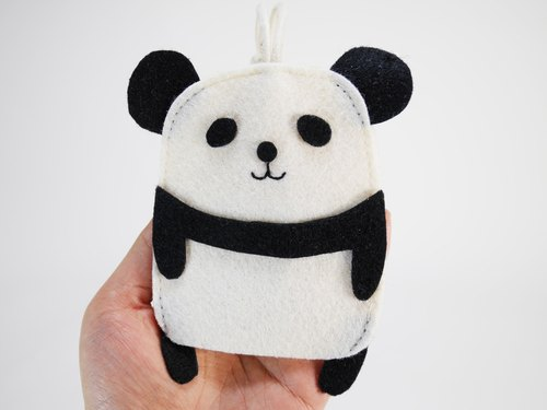✿ Cute Animal Wallets - Panda ✿