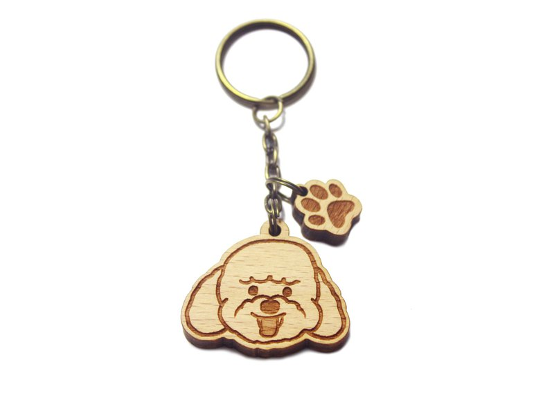 VIP Dog - Big Head Series----Teddy/Mao Kids/Pets/Dog/Music/Log Key Ring/