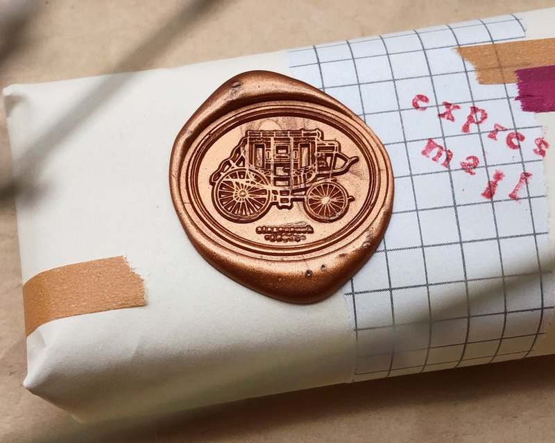 Stagecoach Wax Seal Stamp - misterrobinson