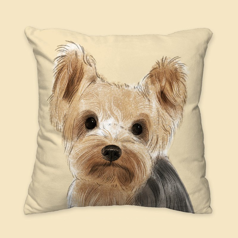 [I will love you forever] Classic Yorkshire Pillow Animal Pillow/Pillow/Cushion