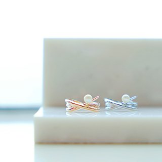 Pearl series simple starfish pearl adjustable ring