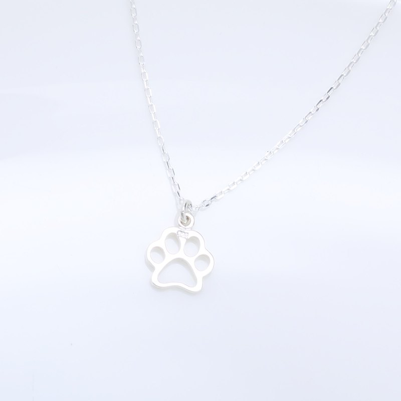 Cat Paw s925 sterling silver necklace Birthday Valentine's Day gift