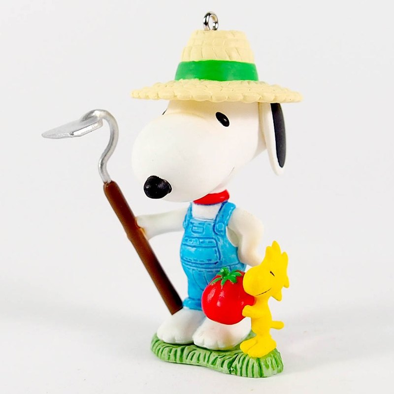 Snoopy Charm - Home to Farmers (Hallmark-Peanuts)