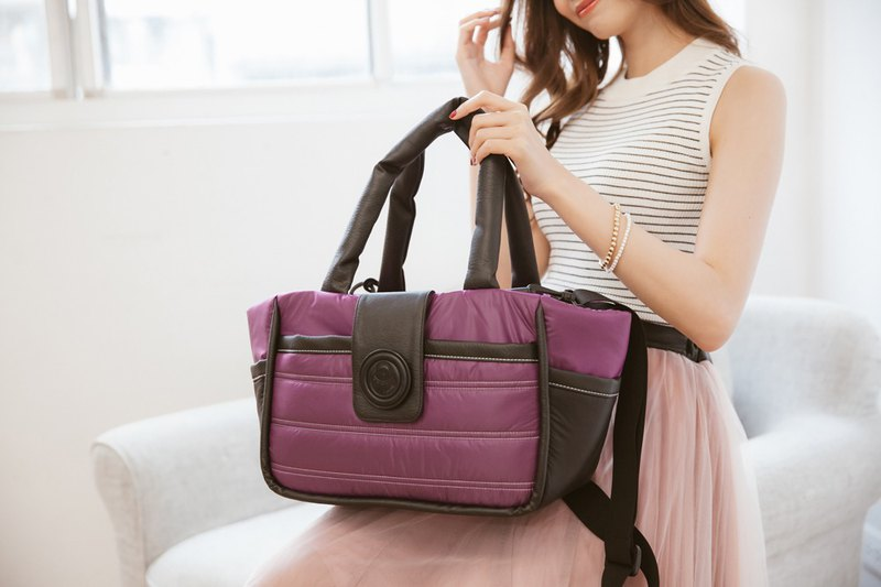 Small classic bag _ rich purple