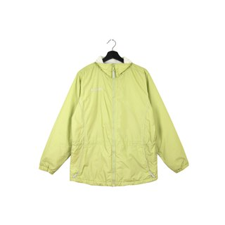 Back to Green :: Windbreaker cotton jacket Columbia Verdict // Unisex / vintage outdoor (CO-01)