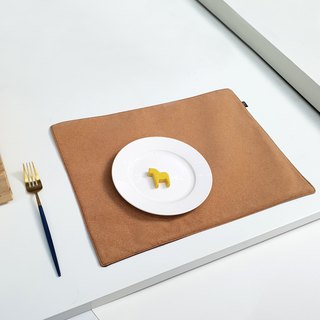 Custom text. Lightweight cork placemat (four models)