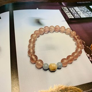 Suddenly (Bracelet Series) Strawberry Crystal - Love / solved