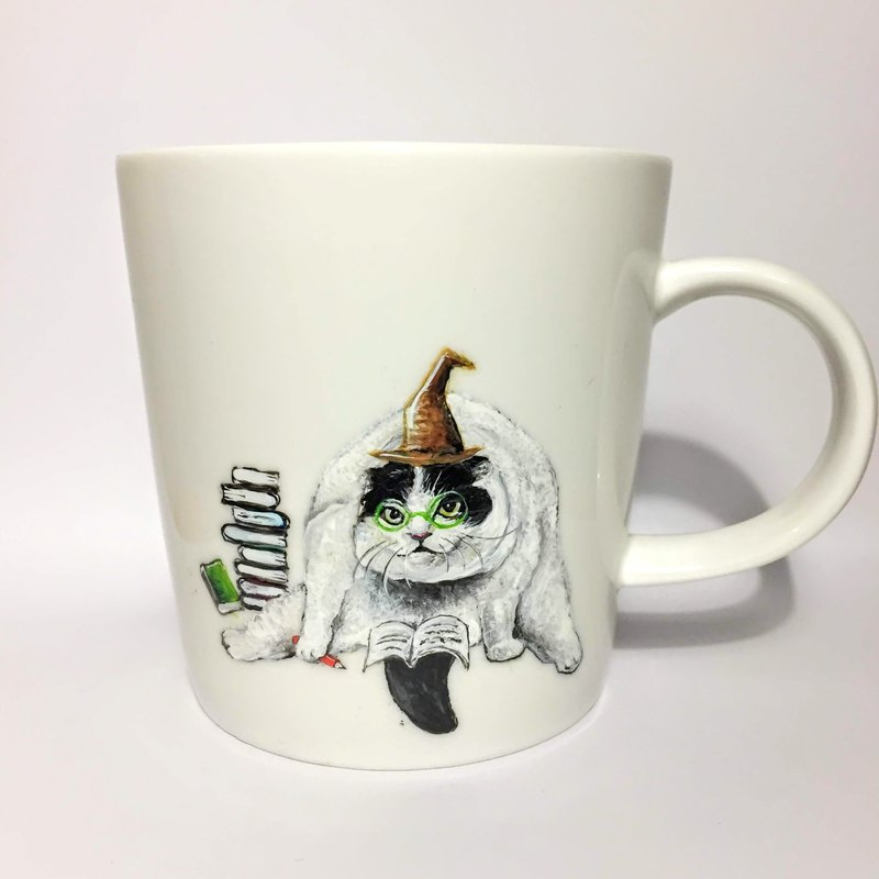 Only this one! Cat Sorcerer Mug