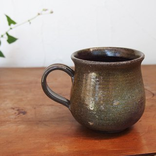 Bizen coffee cup (middle) c2 - 128