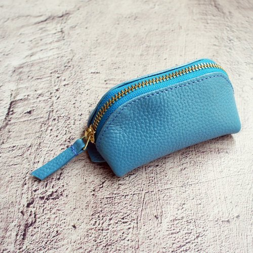 Sky blue furniture small storage bag can be stored in a variety of small things such as stamps cute portable bag