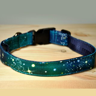 Togo pet light collar collar collar collar collar collar cosmic version galaxy