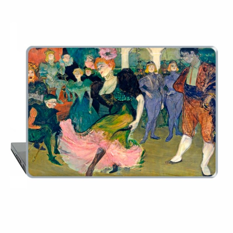 Toulouse Lautrec MacBook Pro case MacBook case MacBook Air MacBook Pro case 1504