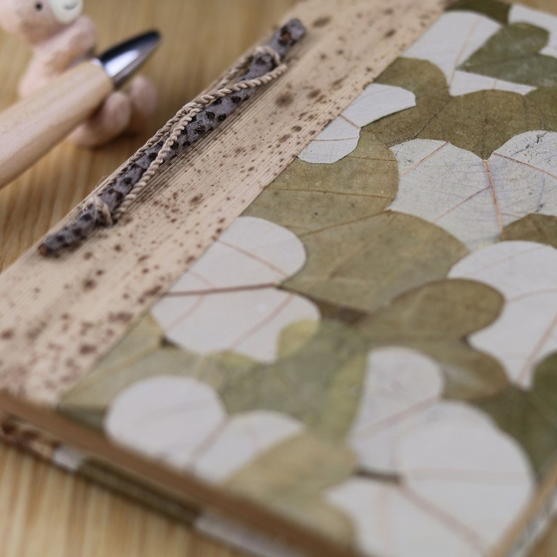 Leaf notebook lovers