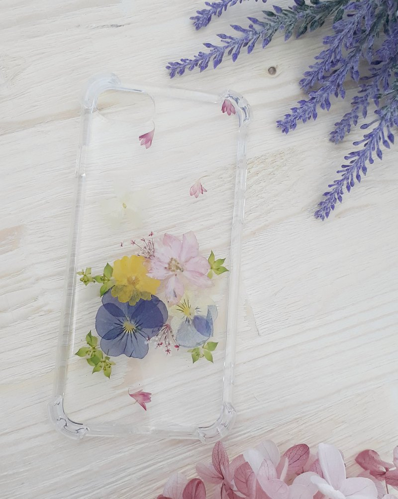 Pressed Flower Phonecase-Little Garden