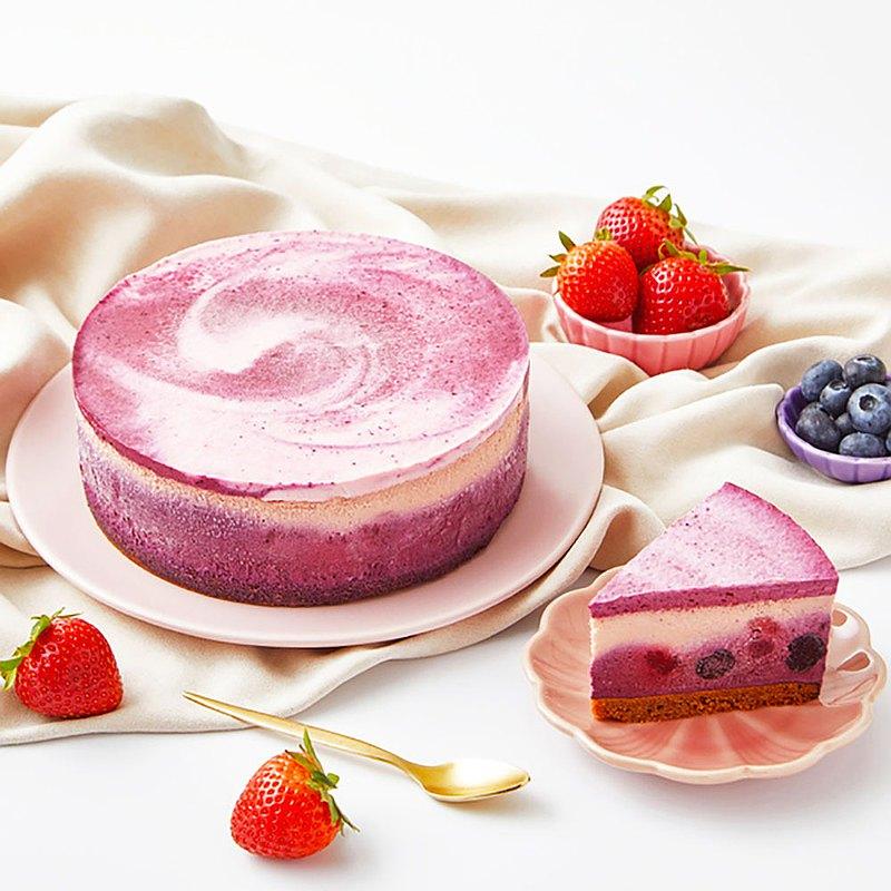 仲夏莓果乳酪蛋糕