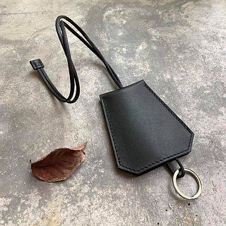 KAKU leather design key holder necklace key ring