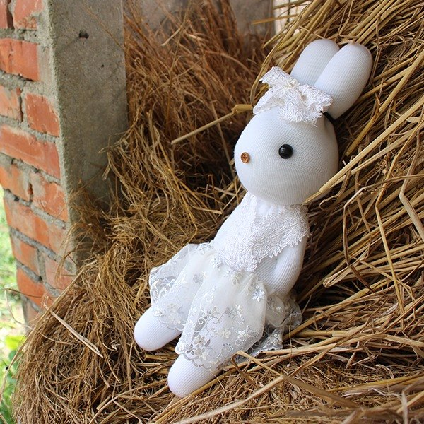 Merry Me witness the wedding - bride rabbit design models - handmade, marriage, marry, weddings, small objects, remember