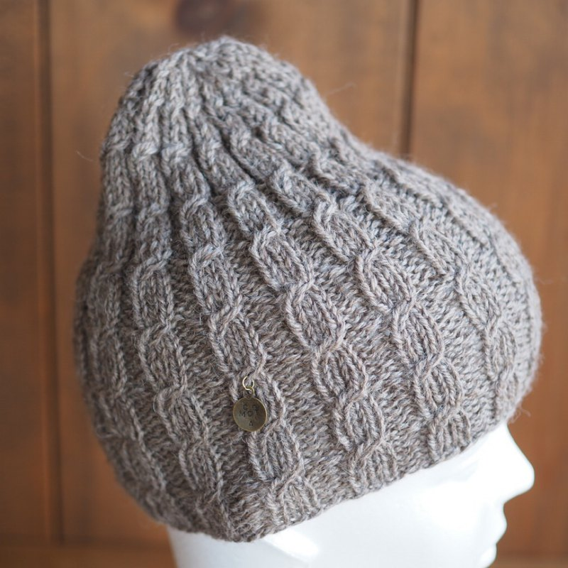 Knitted cap Condom hat Flax