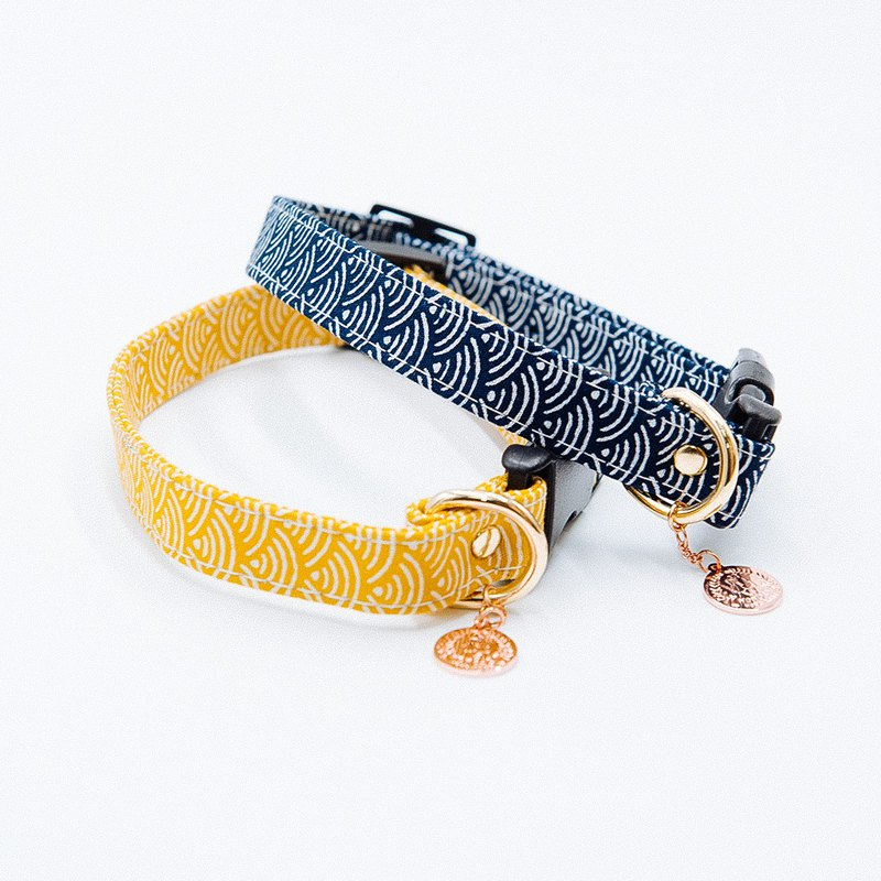 【Momoji】 Pet Collar - Wave S