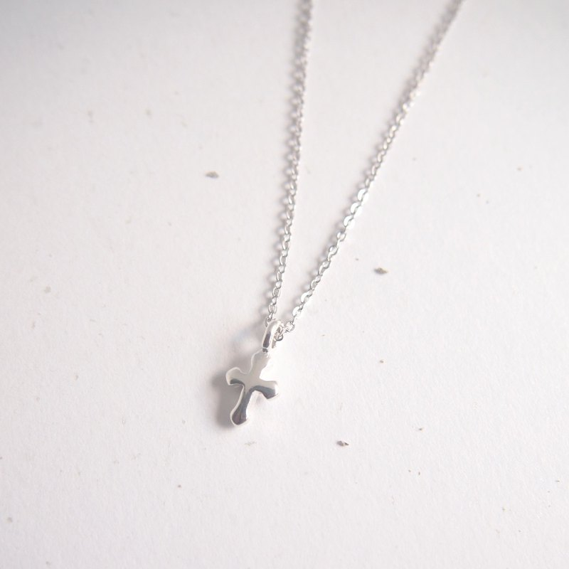 Faith | Cross Sterling Silver Necklace