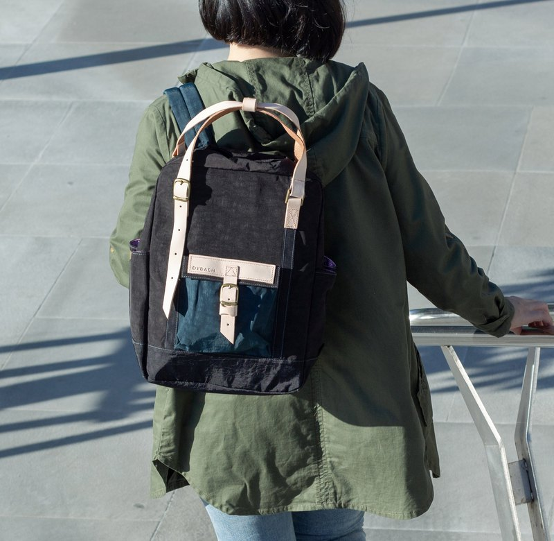 【ZeZe Bag】DYDASH x 3way/hand bag/shoulder bag/backpack/diaper bag/contrast color