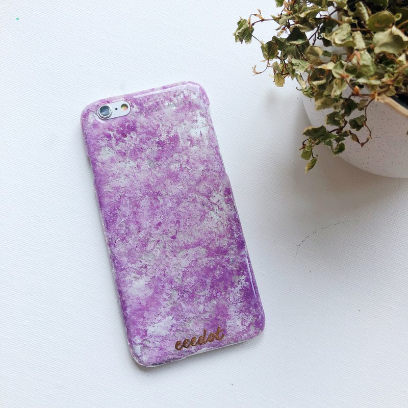 IPHONE 6/6S | Snowflake | Hand-painted phone case
