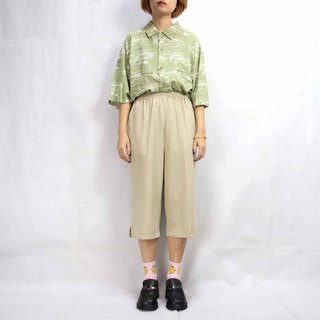 Tsubasa.Y Ancient House 002 Ancient Pants Skirt, Shorts Pants Skirt Light Color Vintage Retro