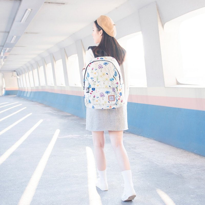 Breezy Bouquet  Backpack