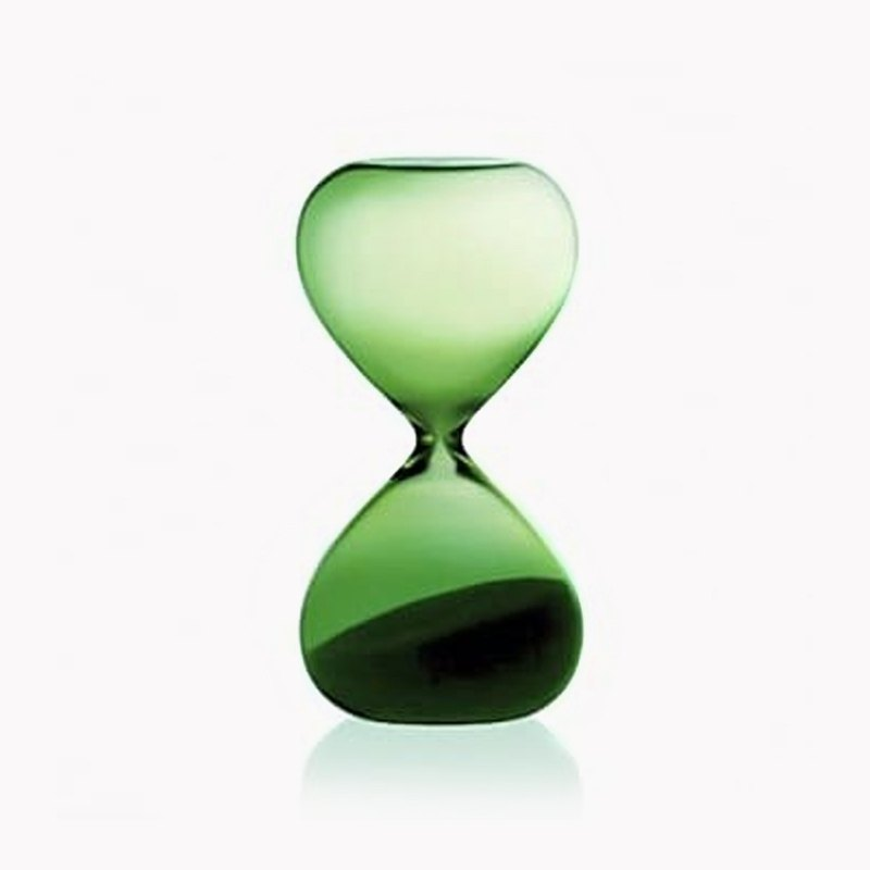 5 minutes [Japan HIGHTIDE] (grass green) time hourglass custom lettering gift sand time meter