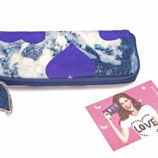 Beautiful Imagination Denim Wallet