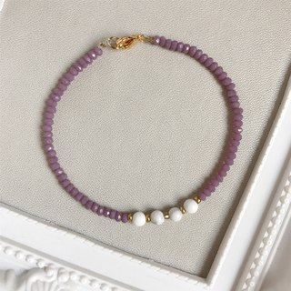 Temperament Purple White • White Turquoise • Bracelet Bracelet • Gifts [Spot Clearance]