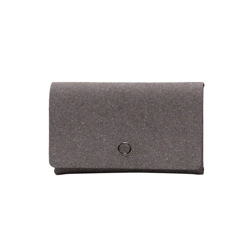 Business card-holder  Up to 60 cards【Grey x White Diamond Pattern】