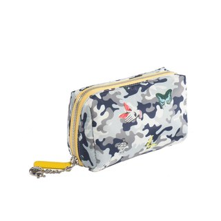 Mesheen Mishin personality camouflage printed cosmetic bag