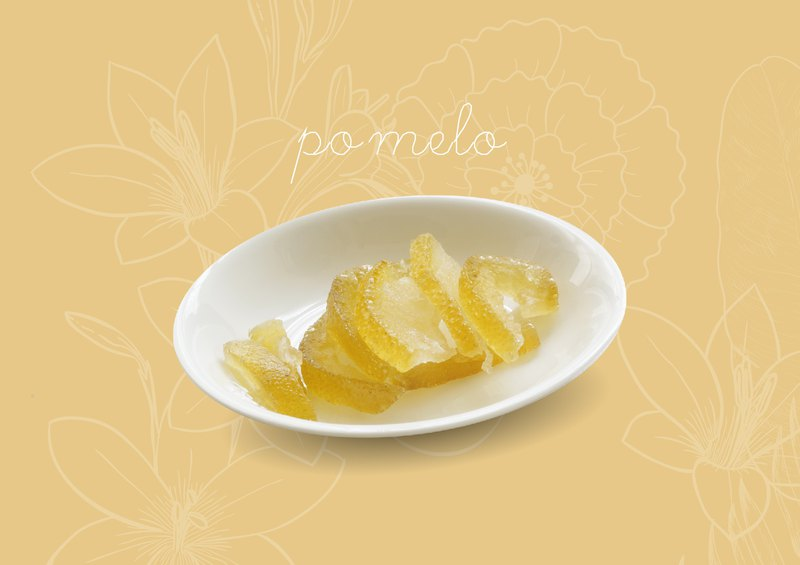 Fresh dried fruit - citron peel