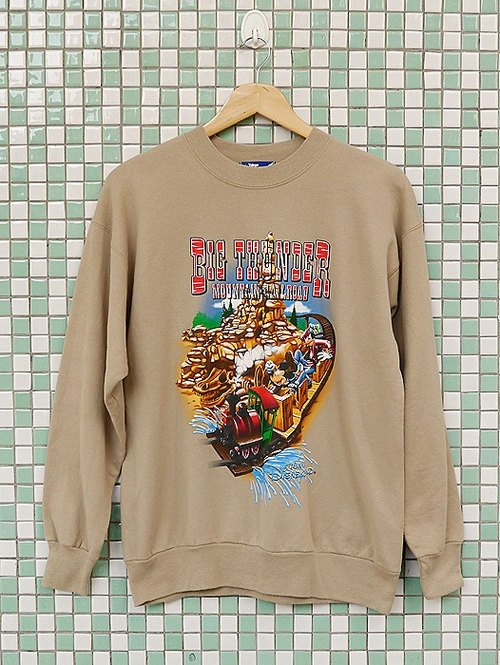 ♦♦ ◈ invincible children music vintage line ◈ ♦♦ classic vintage American-made cotton Tokyo Disney Mickey Mouse Antique University T