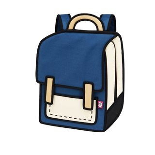 JumpFromPaper Coo Coo Blue Backpack